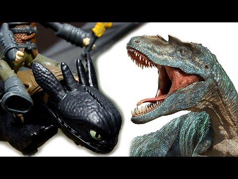 ДИНОЗАВРЫ. Мега битва ДИНОЗАВРОВ. Мультик про Динозавров и Драконов новая серия. 2 серия. Игрушки ТВ