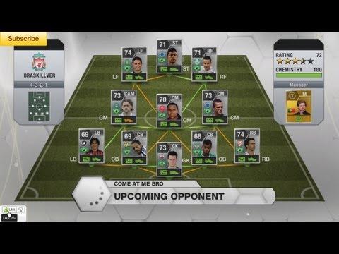 FIFA 13 - BraSilver/BraSkiller/BraSkillver BEAST SQUAD! (Silver Brazilian Squad SUBSCRIBER REVIEW)