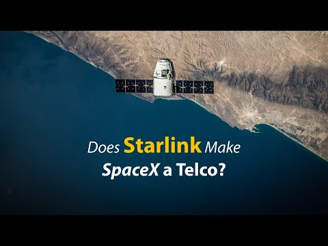 Starlink Satellite 101, is SpaceX becoming a Telco? | Opinion