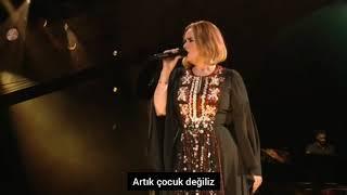 Adele-Send My Love(Türkçe Çeviri) LIVE