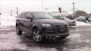 Audi Q7 TDI 2012 Videos