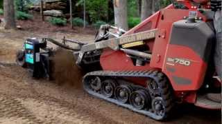The Ditch Witch® SK750 and SK755