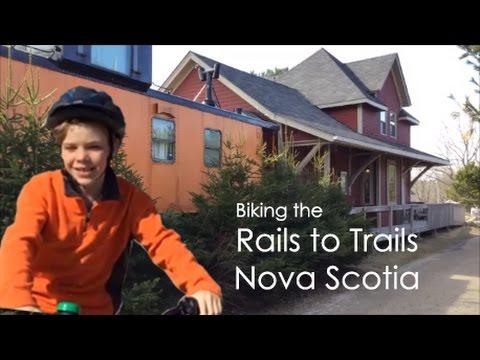 Rails to Trails - Starting at Bike and Bean, Nova Scotia