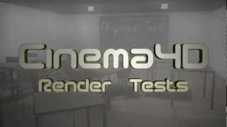 Cinema4D Render Tests - 3D CGI Cat, Mograph Physics and Water Particles