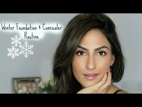 EVERYDAY FOUNDATION & CONCEALER -- MY WINTER ROUTINE thumbnail