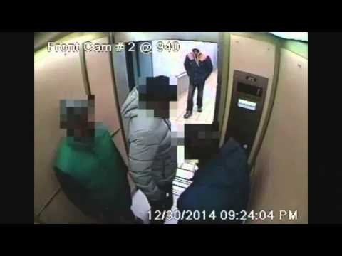 SECURITY VIDEO: Brooklyn Elevator Shooting