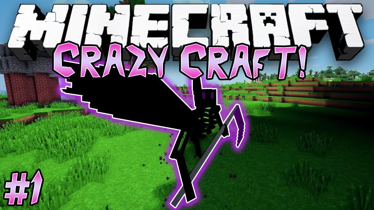 Minecraft Crazy Craft Modpack Cracked