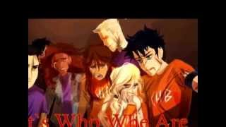 Repeat youtube video Who We Are -tribute to Percy Jackson