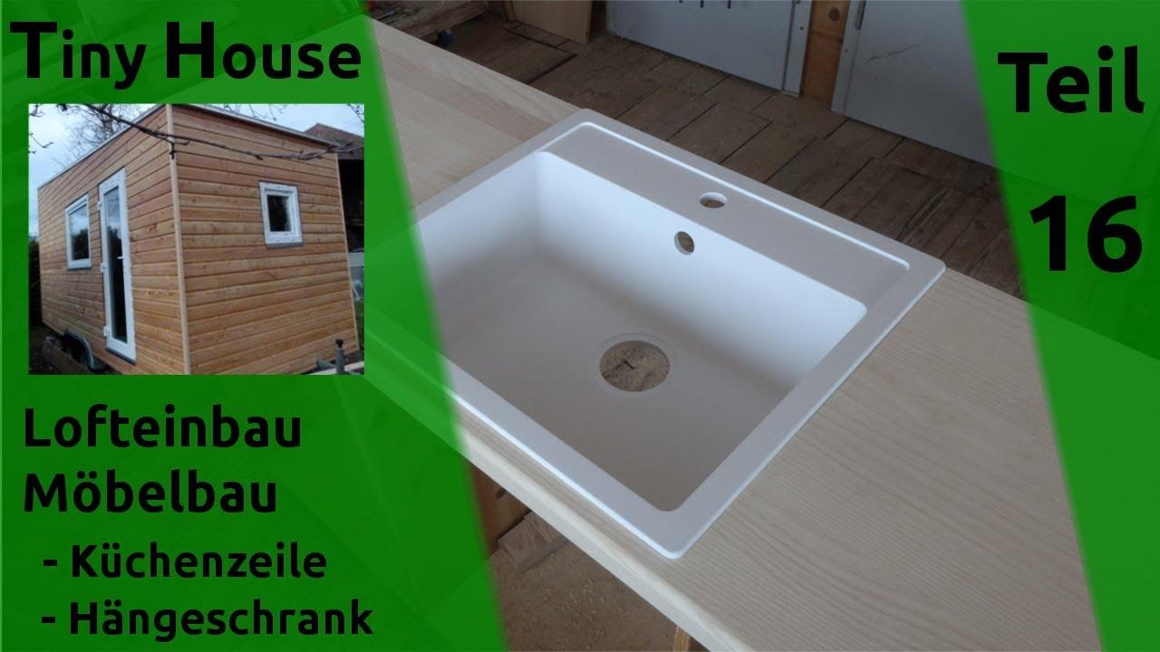 Tiny House Selber Bauen Lofteinbau Erste Mobel Teil 16 Youtube
