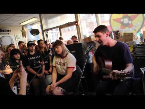 Tigers Jaw - Plane Vs Tank Vs Submarine / I Saw Water (acoustic) mp3