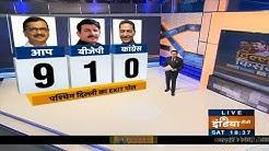 Delhi Exit Poll Result: आंकड़ों के मुताबिक पश्चिमी दिल्ली में AAP 9, BJP 1, Congress 0