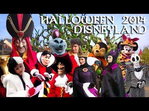 2014 halloween disneyland paris special characters 1080. Black Bedroom Furniture Sets. Home Design Ideas