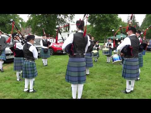 Fraserburgh RBL Pipe Band Strathmore Highland Games Glamis Castle Scotland