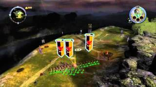Warhammer Mark of Chaos/Battle March First Mission Noobery Gameplay (2007, Namco Bandai/Black Hole)