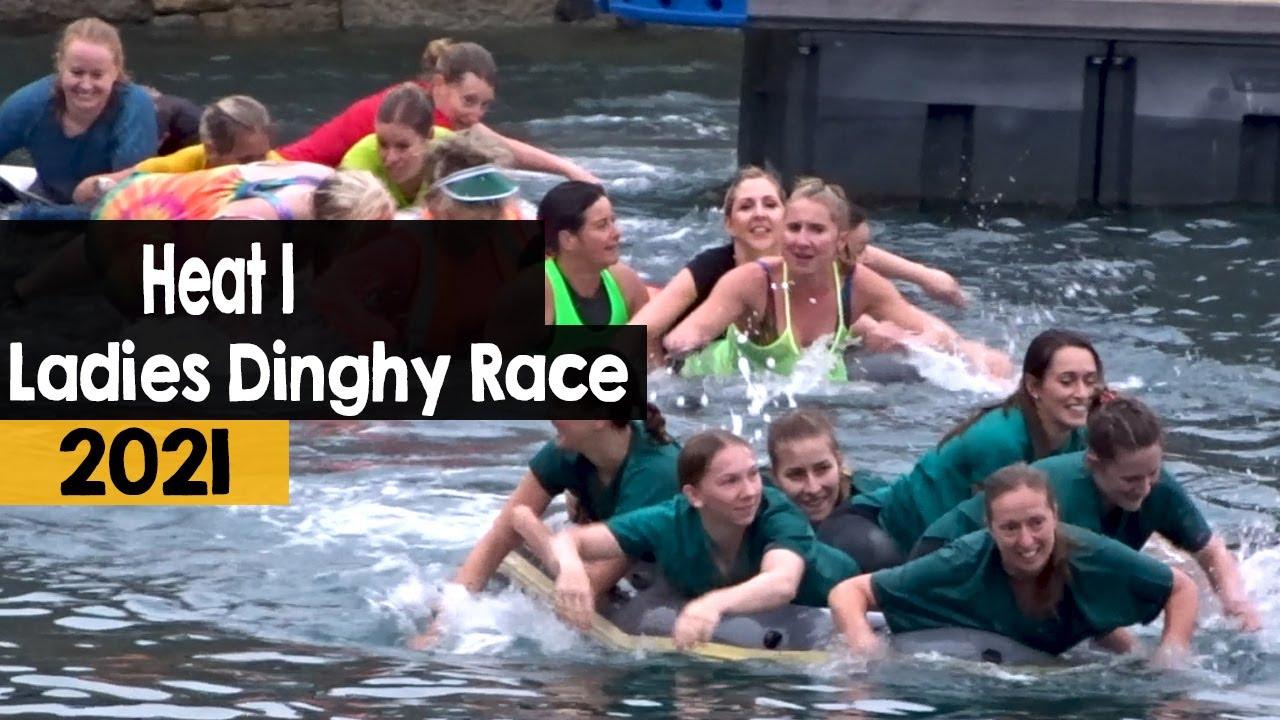 Ladies Dinghy Race | Heat 1 | 2021