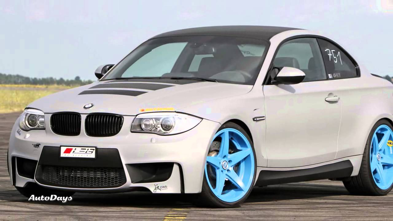 Modified BMW Series M Coupe Up HP Grey Bullet By LEIB - Bmw 1 series m coupe price