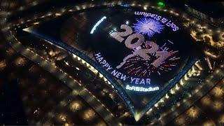 Countdown to 2021 with SoFi Stadium
