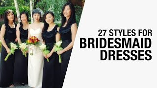 Bridesmaid Dresses - Shopping Tips, Trends, How Much to Pay, Photos from Weddings | Chictopia