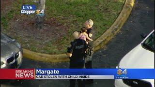 Margate Police Rescue Baby Taken In Stolen Car thumbnail