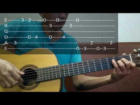 LambadaKaoma tutorial for guitar solo