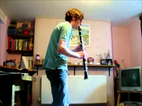 Gangster's paradise on clarinet