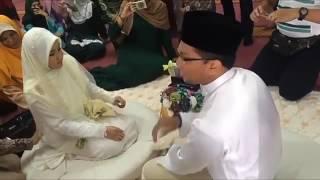 Bikin greget liatnya, pernikahan santri yang tidak pernah pacaran
