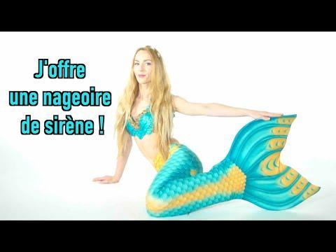 J'offre une queue de sirène à une(e) abonné(e) !