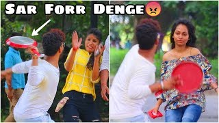 Slapping Girls With Frying Pan( तलने की कड़ाही) Prank Gone Funny|Prank in India |FunkyTv|