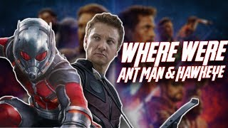 Why Ant-man and Hawkeye aren't in Avengers: Infinity War (Spoilers)