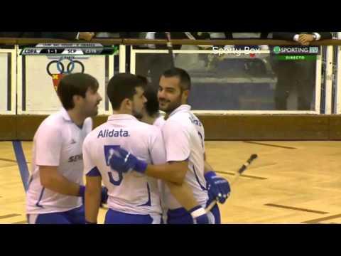 Hoquei Patins :: 08J :: Paço de Arcos - 1 x Sporting - 3 de 2014/2015