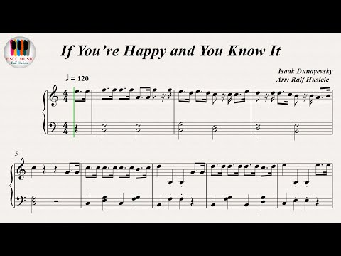 If You're Happy and You Know It (if you're happy and you know it clap your hands), Piano