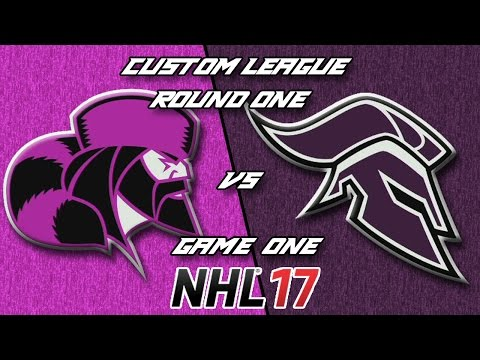 NHL 17 - Custom League - Boston @ Kansas City Round 1 Game 1