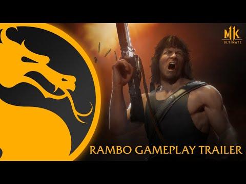 Download Mortal Kombat 11 Ultimate   Official Rambo Gameplay Trailer