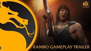 Mortal Kombat 11 Ultimate | Official Rambo Gameplay Trailer