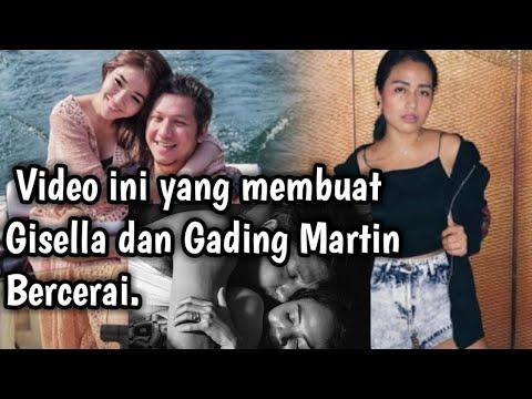 Video Gading Martin selingkuh sebelum dicerai Gisella.