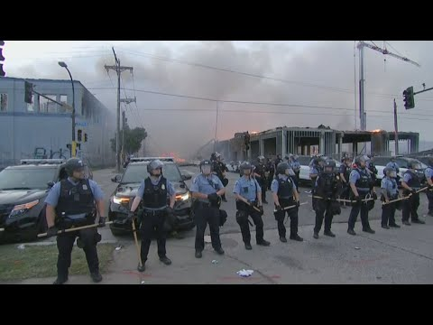 Man Killed, Looting, Fires Set As Minneapolis Protests Turn Violent