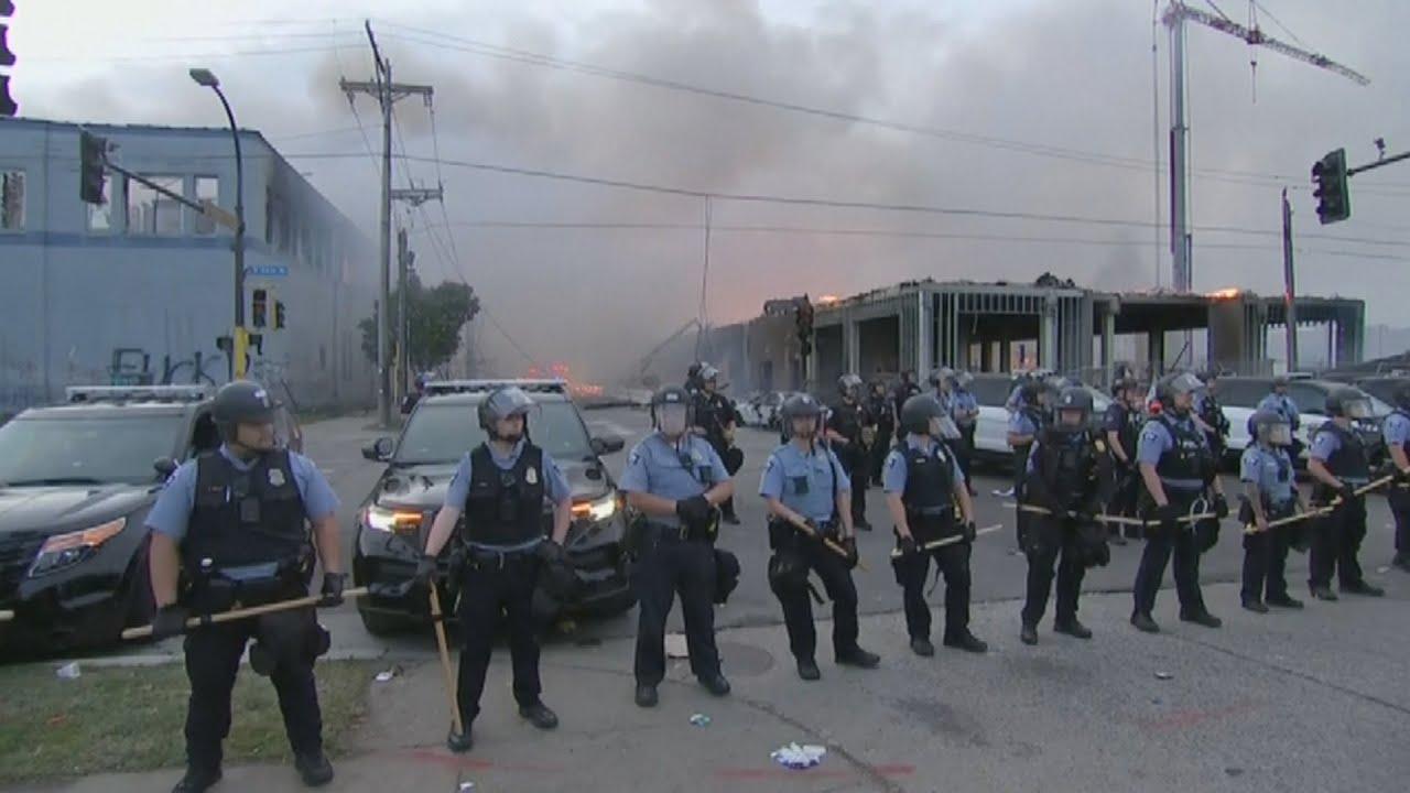 Peaceful protests turn violent; fires, looting, shootings in St. Louis ...