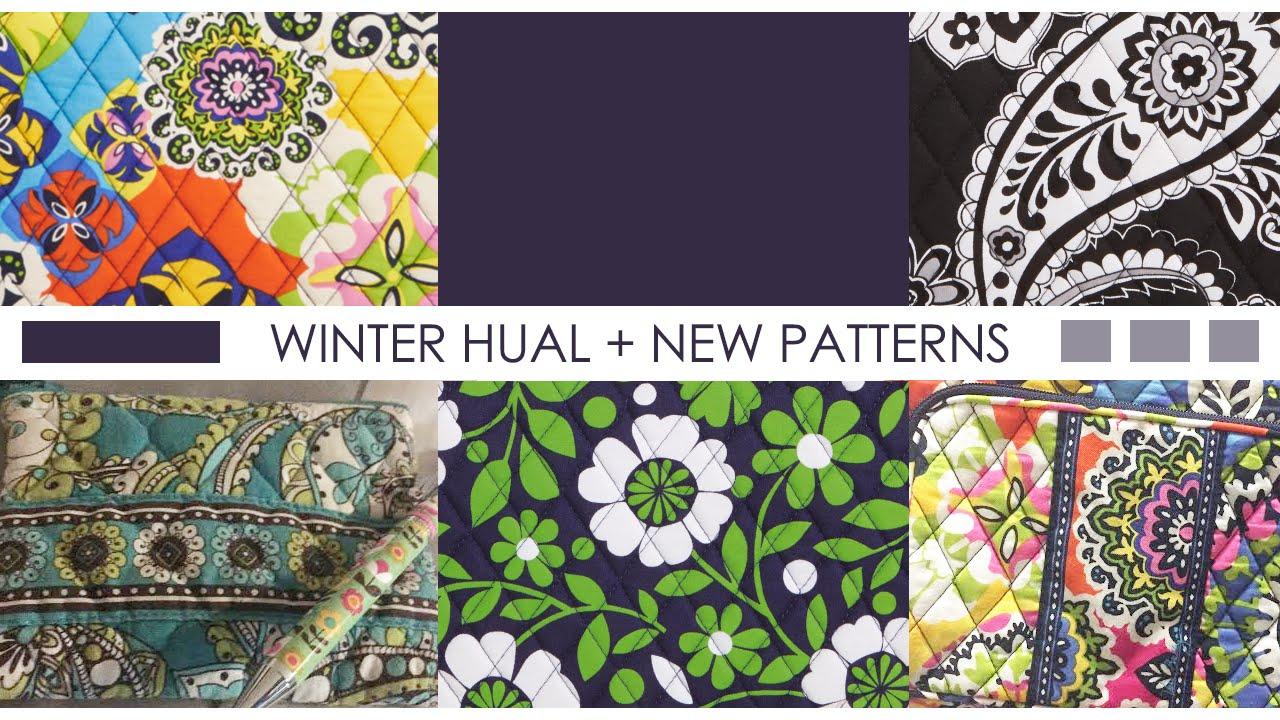 Vera Bradley Winter Haul 2015 New Patterns Youtube