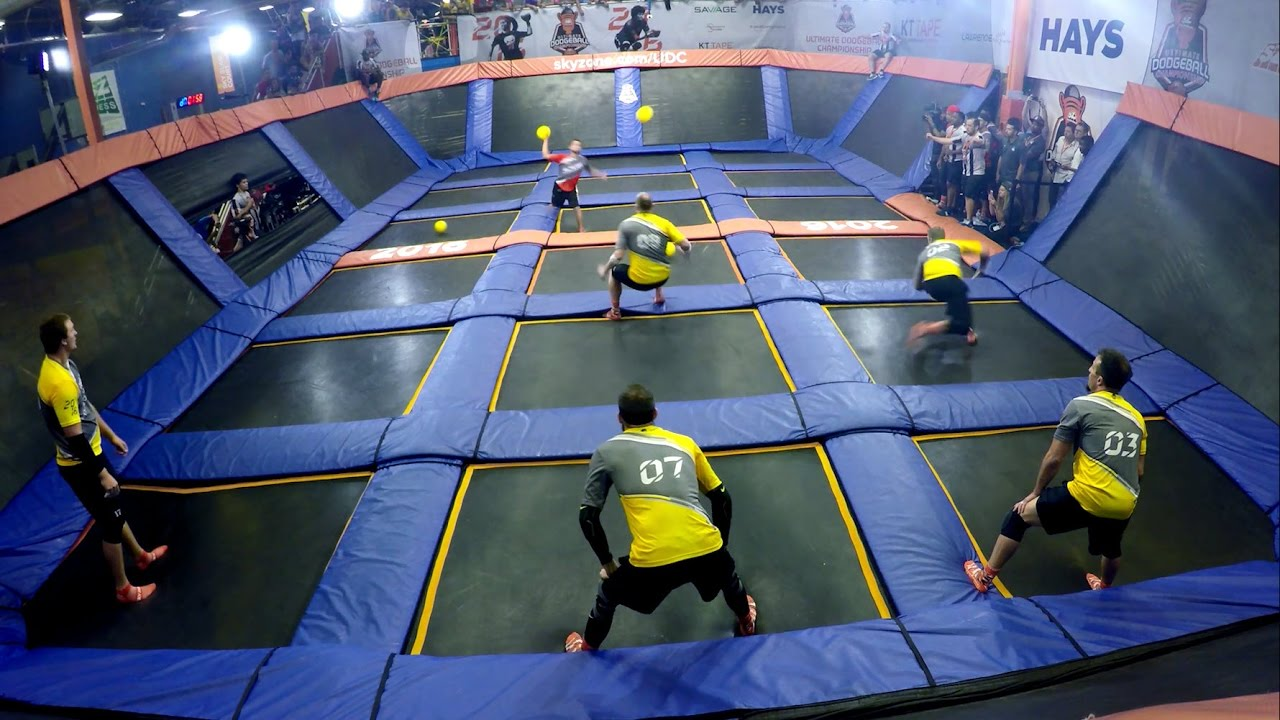 top  catches   sky zone ultimate dodgeball championship youtube