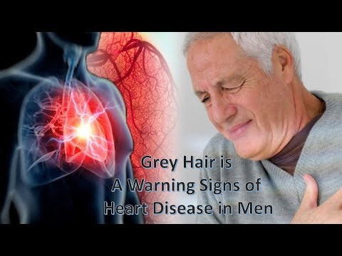 Grey Hair is A Warning Signs of Heart Attack