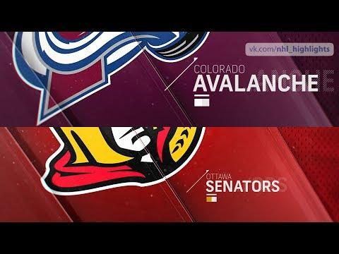 Colorado Avalanche vs Ottawa Senators Jan 16, 2019 HIGHLIGHTS HD