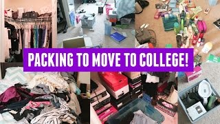 PACKING TO MOVE TO COLLEGE! (UCLA)