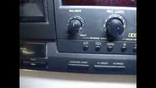 Technics RS-TR232 HX Pro Double Cassette Tape Deck