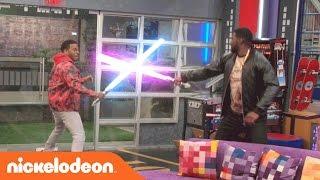 Game Shakers | Epic Laser Battle | Nick