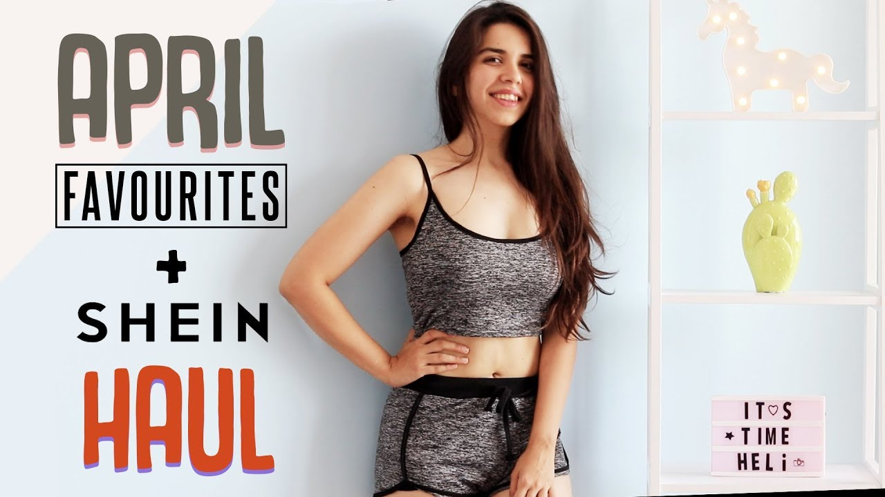 528fc54768 SHEIN Try On Haul & April Favourites 2019! | Heli Ved - YouTube