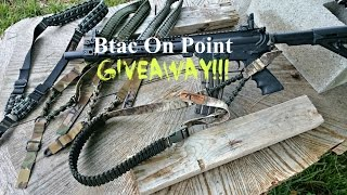 on point one point sling release giveaway