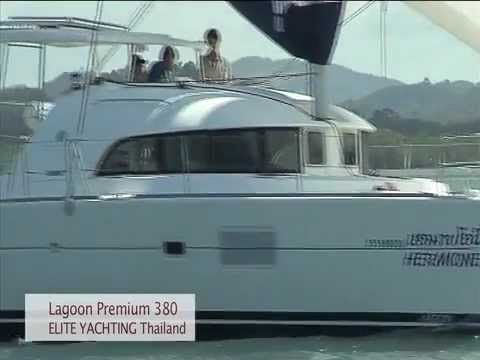 "Lagoon 380 Premium Video - Phuket Yacht Charter - Bareboat ""Hermoine"" by Elite Yachting"