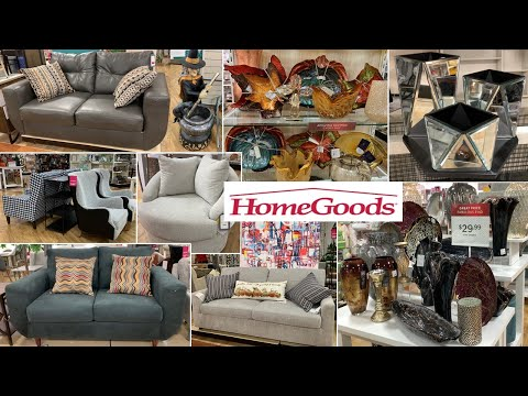 HomeGoods Furniture * Glam Home Decor * Fall Decor | Shop With Me 2019
