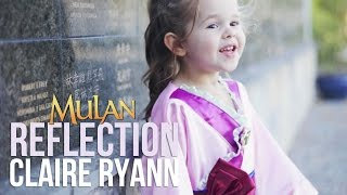 Reflection (Mulan) - Claire Ryann at 3 Years Old thumbnail