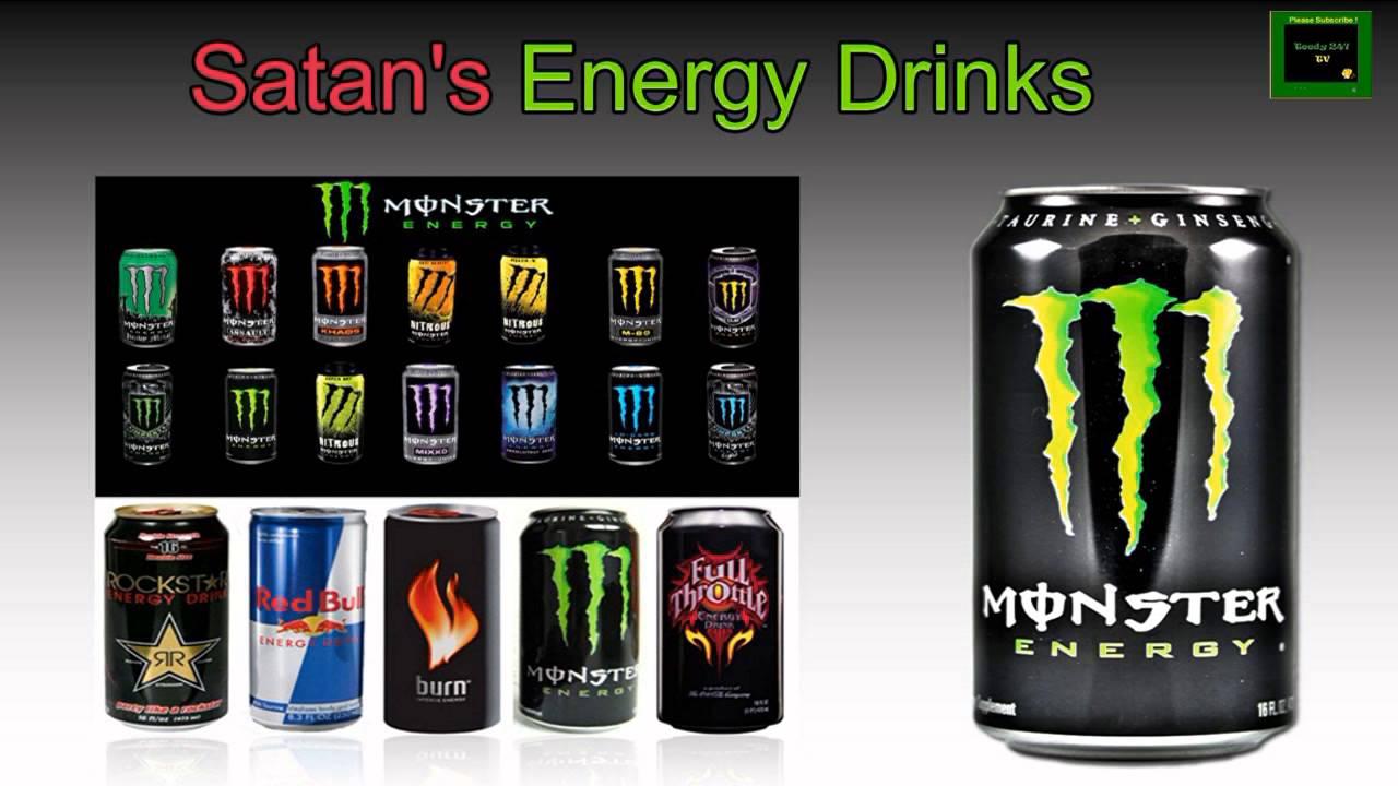 80 Satans Energy Drinks Youtube